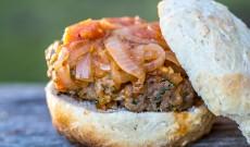 Campervan Cooking – Baking Hamburger Buns(Roesterkoek) on a Cadac Safari Chef